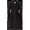 Orla Kiely Black Coat - Jacket - coats -