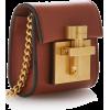 Oscar de la Renta Alibi Mini Leather Sho - Clutch bags -