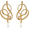 Oscar de la Renta BRAIDED CHAIN EARRINGS - Orecchine -