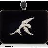 Oscar de la Renta Crystal-Embellished Ve - Clutch bags -