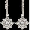 Oscar de la Renta Diamond Earrings - Earrings -