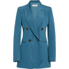 Oscar de la Renta Moiré Double-Breasted - Jacket - coats -