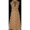 Oscar de la Renta Polka Dot Cotton dress - Dresses -