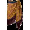 Oscar de la Renta Silk-jacquard Skirt - Skirts -