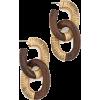 Oscar de la Renta Thread Link Earrings - Earrings -
