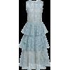 Oscar de la Renta Tiered Broderie Anglai - Dresses -