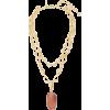 Oscar de la Renta Twisted Loop And Pearl - Necklaces -