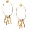 Oscar de la Renta loop earrings - Earrings -
