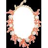 Oscar de la renta coral necklace - Collane -