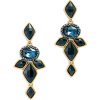 Oscar de la renta nightshade earrings - Earrings -
