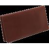 Osgoode Marley Cashmere Checkbook Cover Brandy - Novčanici - $41.00  ~ 260,46kn