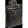 Osgoode Marley Cashmere Large Organizer Backpack Black - Backpacks - $158.85