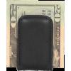 Osgoode Marley Cashmere Magnetic Money Clip Black - Wallets - $17.00