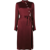 Osman Off centre button-up dress - Dresses -