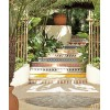 Outdoor tiled staircase - Buildings -