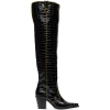Over The Knee Boot - GANNI - Buty wysokie -