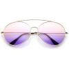 Oversized Aviator Sunglasses - Sunglasses -