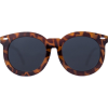 Oversized Round Sunglasses - Sunglasses -