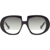 Oversized acetate sunglasses - Sonnenbrillen -