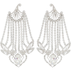 PACO RABANNE Crystal-embellished earring - Earrings -