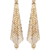 PACO RABANNE Crystal-embellished mesh ea - 耳环 -