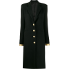PACO RABANNE gold-tone trim coat - Куртки и пальто -