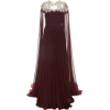 PAMELA ROLAND embroidred chiffon gown - Haljine -