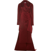 PAMELA ROLAND satin evening coat - Chaquetas -