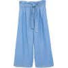PAPERBAG WAIST CULOTTES - Jeans - $45.90