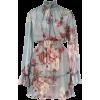 PATBO Peony print mini dress - Obleke -