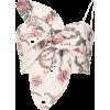 PATBO floral print bow bustier - Vests - $350.00