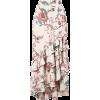 PATBO floral print ruffle maxi skirt - Skirts - $550.00