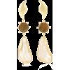 PEET DULLAERT 14kt gold-plated earrings - Earrings -