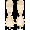 PEET DULLAERT Una 14kt gold plated earri - Earrings -