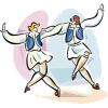 PEOPLE DANCING - Illustrations -