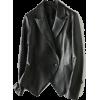 PEPLUM SINGLE-BREASTED LEATHER JACKET - Kurtka - $95.97  ~ 82.43€