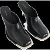 PETER DO black mules - Klasyczne buty -
