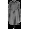 PETER DO grey shirt - Camicie (corte) -
