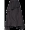 PHILIPP LIM black ruffle front skirt - Skirts -