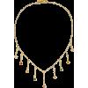 PIPPA SMALL 18-karat gold multi-stone ne - Necklaces -