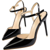 POINTED TOE BUCKLE STRAP PUMPS - Classic shoes & Pumps - $49.97