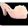 PON PON Marabou Mule - Classic shoes & Pumps -