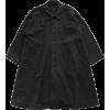 PORTER CLASSIC black coat - Jakne i kaputi -