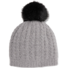 PORTOLANO Cable-knit cashmere beanie and - Hat -