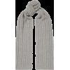 PORTOLANO Cable-knit cashmere scarf - Szaliki -