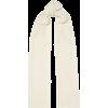 PORTOLANO Cable-knit cashmere scarf - Scarf -