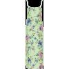 PRABAL GURUNG floral green silk satin - Vestiti -