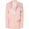 PRABAL GURUNG ribbon collar blazer - Jacket - coats -