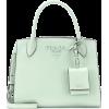 PRADA Monochrome leather tote - ハンドバッグ - $1,850.00  ~ ¥208,214