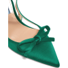 PRADA  Bow-trim slingback satin pumps - Classic shoes & Pumps -